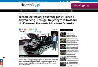 Screenshot-2017-11-28 Nissan leaf nowej generacji już w Polsce i trzyma cenę Zasięg Na jednym ładowaniu do Krakowa, Poznani[...]